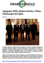 """Articolo di """"Grandangolo - Il giornale di Agrigento"""" del 17 Novembre 2019"""