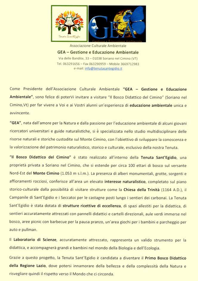 Invito alla Tenuta Sant'Egidio - Pagina 1