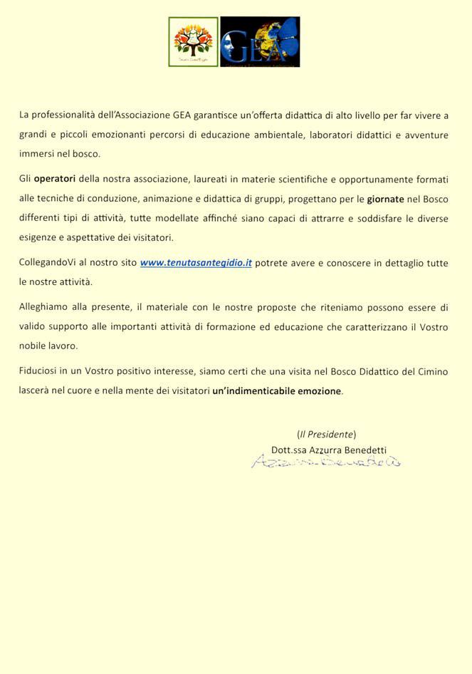 Invito alla Tenuta Sant'Egidio - Pagina 2